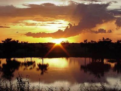 Hermoso paisaje en los Esteros de Camaguan