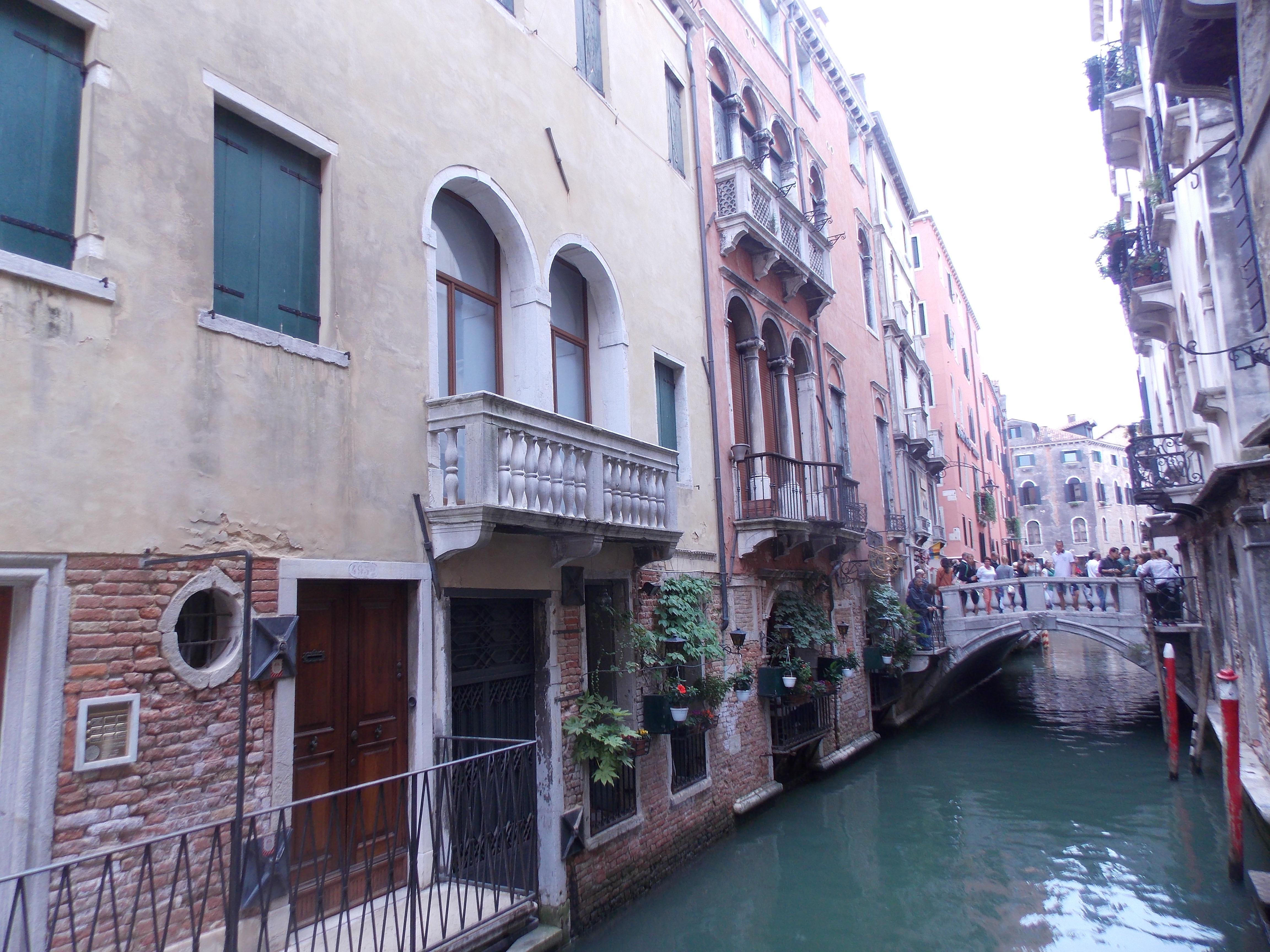 Venecia:  hermosa ciudad entre las aguas