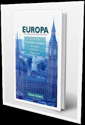 EBook Europa [El continente que todo viajero debe visitar] estará disponible el 7 de mayo