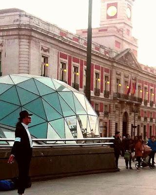 ¡Michael Jackson está en Madrid!