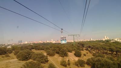 Madrid vista desde el teleférico