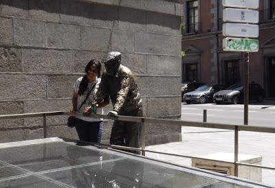 Una apureña en Madrid  (Reflexión)