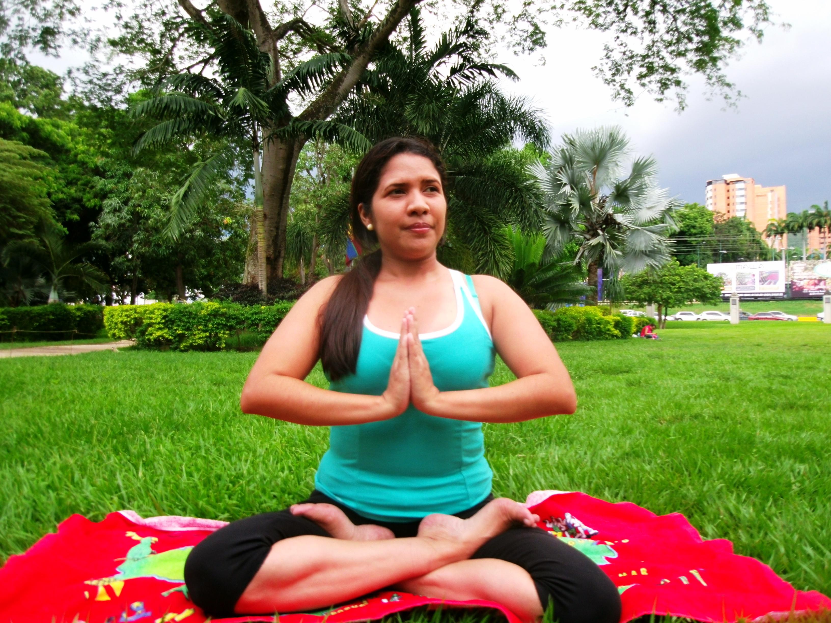 ¡Vamos a hacer yoga y respirar!