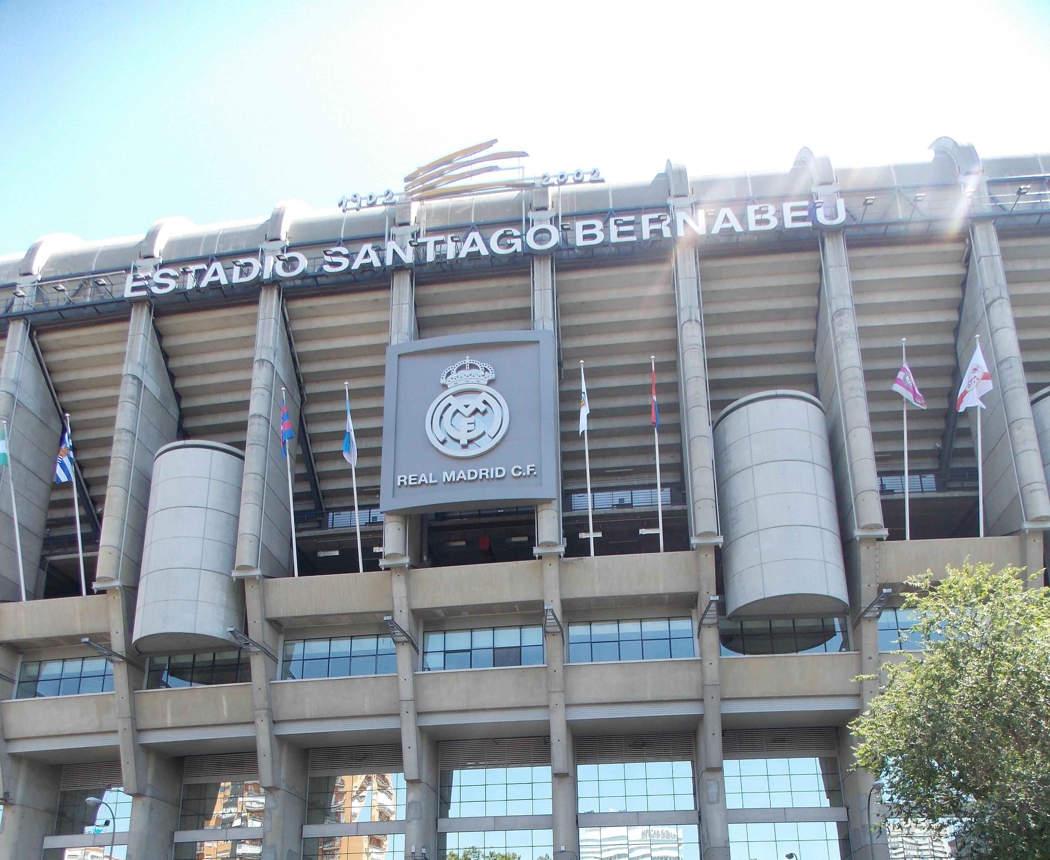 El coliseo blanco del Real Madrid