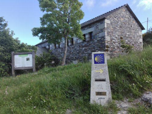 O Cebreiro una aldea en la cima de Galicia