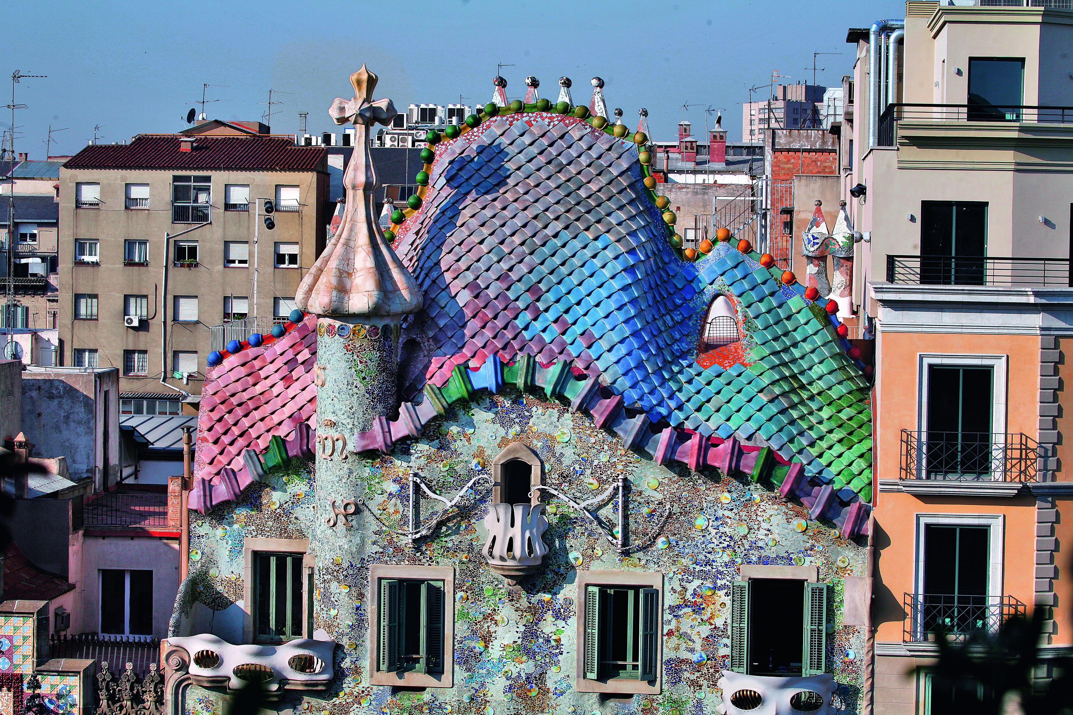 Impresionantes fotos de la Casa Batlló