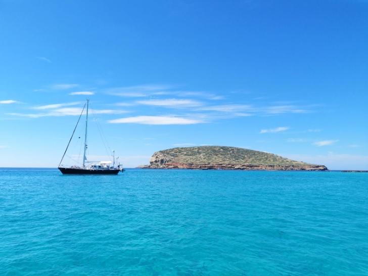Ibiza es un paraíso de las islas Baleares