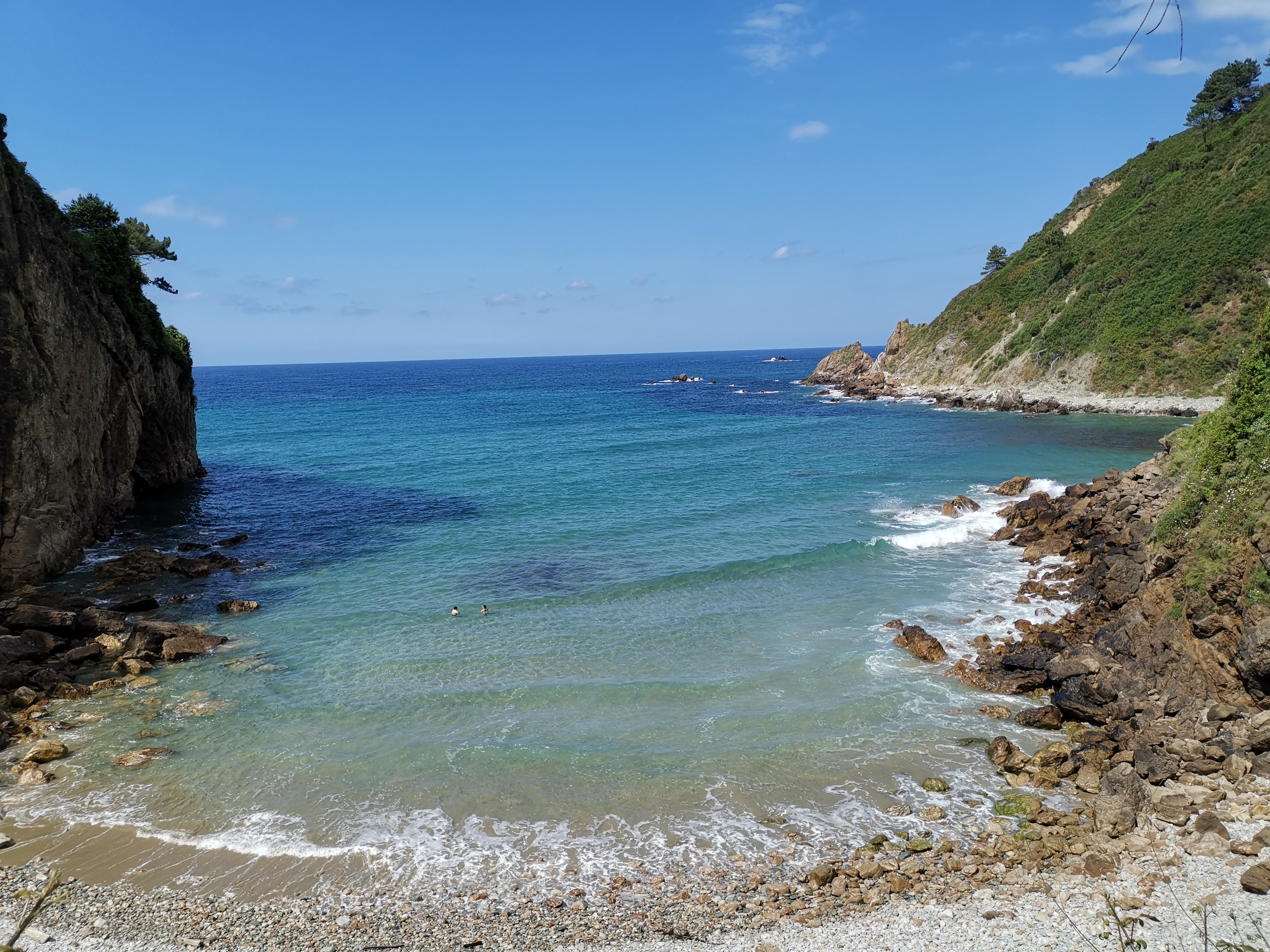 Playa de Xilo la bahía que me ha enamorado