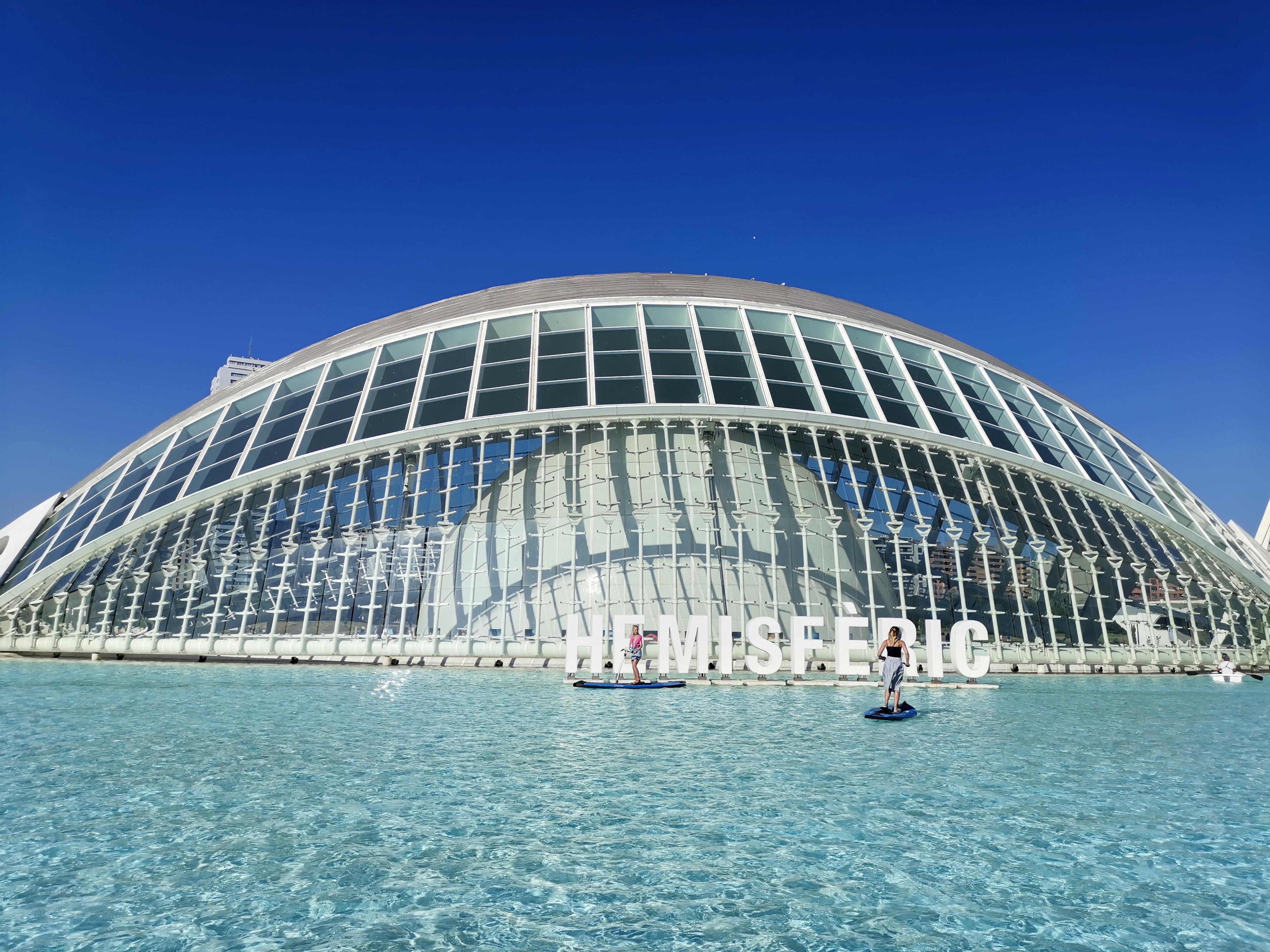 #Valencia La a Ciudad de las Artes y las Ciencias